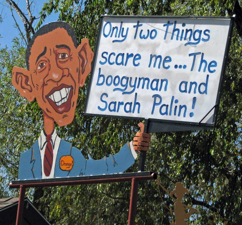 Obama sign