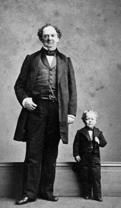 PT Barnum & Tom thumb