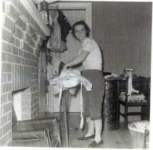 Nell_ironing